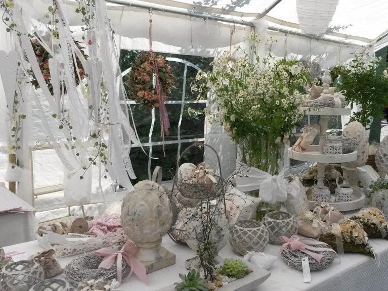 Dekorationsaustellung der Rosengalerie
