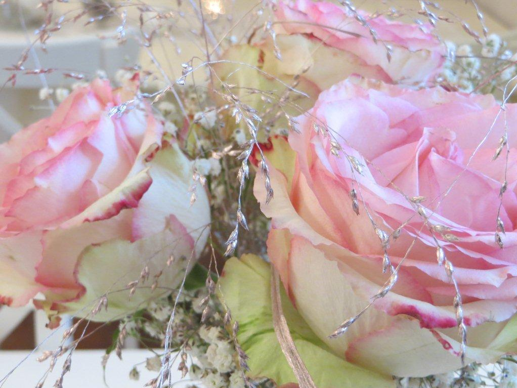 Nahaufnahme eines Blumenstraußes