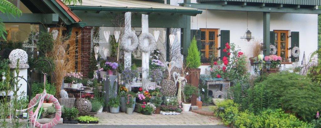 Frontansicht der Rosengalerie in Güttenbach